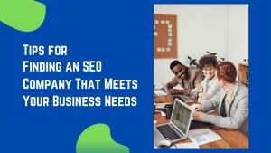 Finding an SEO Company