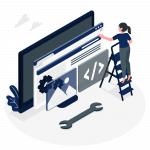 Website illustrator